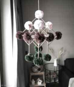 Dekoracja pająk dekoracje wooden love pająk, pajak, bibuła