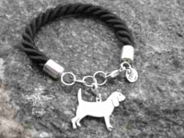 Beagle srebro próby 925 bransoletka nr 10 frrodesign beagle