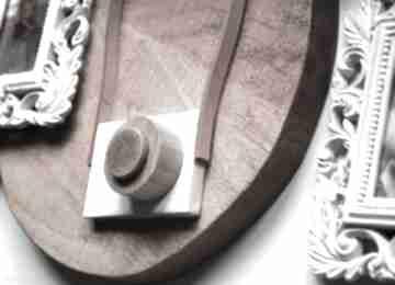 Wooden Loveaparat aparat-ceramiczny skórzany-pasek ramka