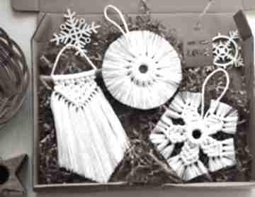 Pomysł na prezenty święta: 3 x zawieszka makrama dekoracje wooden