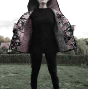 PatchworkArt? płaszcz kimono waciak patchwork boho kaptur