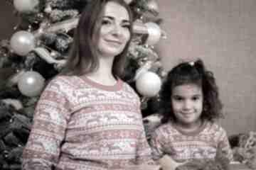 Upominki święta: Zestaw bluz świątecznych christmas czerwone