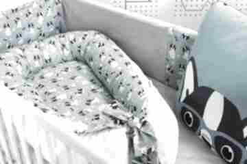 Kokon gniazdo dla niemowlaka - bulldog pokoik dziecka nuvaart