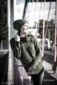 HERMINAdamski-sweter sweter-na-zimę unikatowy-sweter
