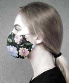 Maseczka krakowska dwuwarstwowa maseczki barska maseczka, maska