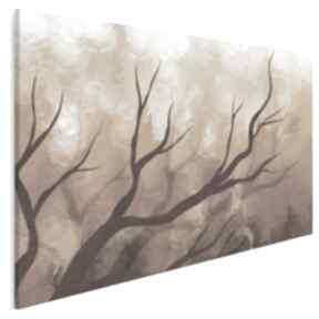 Obraz na płótnie - gałęzie pomarańczowy 120x80 cm 64301 vaku