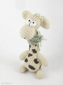 Raffa - szydełkowa żyrafa zabawki wernika żyrafa, żyrafka