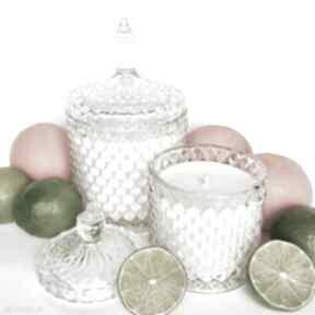 Naturalna świeca sojowa zapachowa, ręcznie robiona
