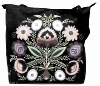 Torba na zamek z motywem folk ramię gaul designs torba, torebka