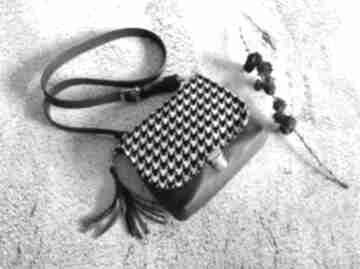 Mini torebka, listonoszka fabrykawis listonoszka, mała skórzana