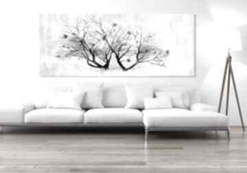 ludesign gallery! obraz grafika drzewo kwiaty magnolia