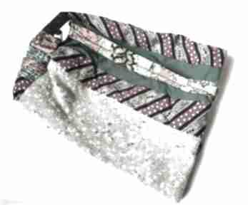 Czapka etno boho patchworkowa folk wiosenna-box 44 - rozmiar