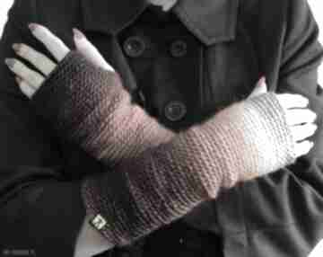 Mitenki w ognistych barwach rękawiczki barska mitenki