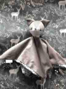 WNETRZE Z GUSTEM? Przytulanka niemowlęca lisek, pluszowy