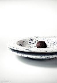 Talerz głęboki z kolekcji milky way ceramika ceramicznosci