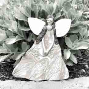 ceramika: anioł aniołek ozdoba-ścienna anioł-na-prezent