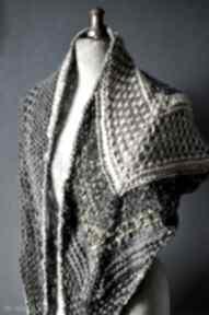 Asymetryczna chusta szaliki the wool art chusta, szalik