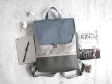 Fabrykawis plecak na laptopa, damski plecak, do pracy, wegański