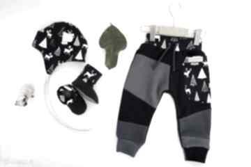 Pomysł na upominki święta! Baby shower set jelonki ii spodnie