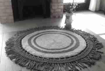 ArteDania. dywan-ze-sznurka dywan-szydełkowy dywan-okrągły