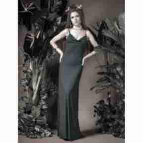 Ariel maxi - suknia z dekoltem wodą sukienki milita nikonorov