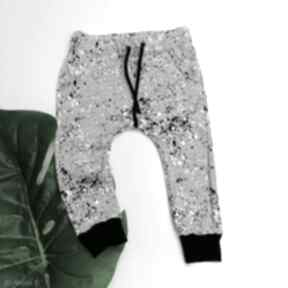 Spodnie baggy plamki szary ketu style dla chłopca, baggy