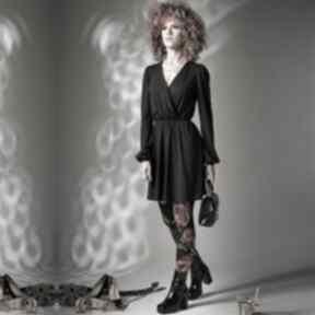 Kate black night - sukienka w stylu vintage sukienki milita