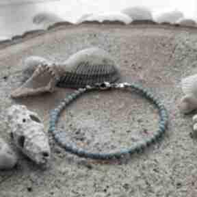 Bransoletka z magnezytem - ocean blue reveal letnia bransoletka