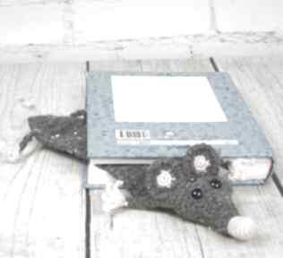 Glam szczurek zakładka do ksiązki zakładki kalisz made szczur