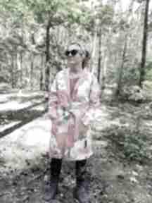 płaszcze: plaszcz folk lato bawełna kolorowy orient