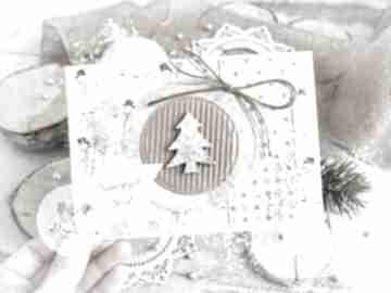 Na święta upominek! Piękna kartka na święta bożego narodzenia