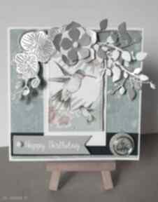Kartka urodzinowa z kolibrem kartki m art a urodziny, kartka