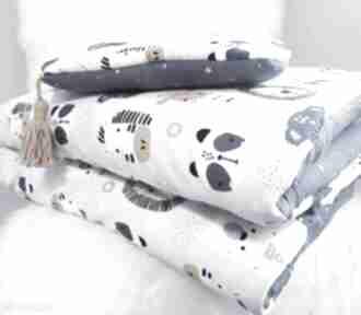 Komplet do łóżeczka bawełna premium muślin pokoik dziecka