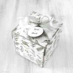 Pudełko kartka - ślub wesele scrapbooking kartki po godzinach