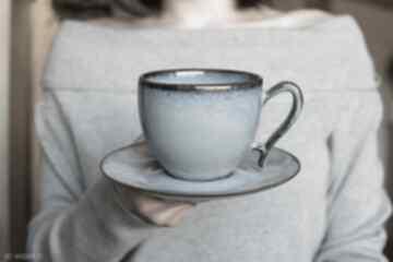 Filiżanka ceramiczna morska 270 ml ceramika ciepliki filiżanka