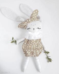 Madika designlalka królik zajączek eko przytulanka