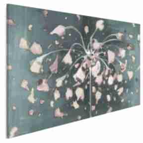 Obraz na płótnie - kwiat abstrakcyjny płatki 120x80 cm 703501