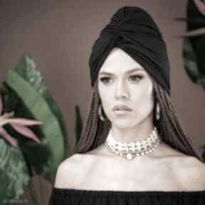 Turban - black ozdoby do włosów milita nikonorov turban
