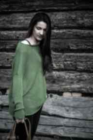 bluzki: BLUZKA Z DZIANINY o luźnym kroju