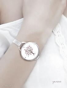 Zegarek, bransoletka - drzewo miłości serce zegarki yenoo