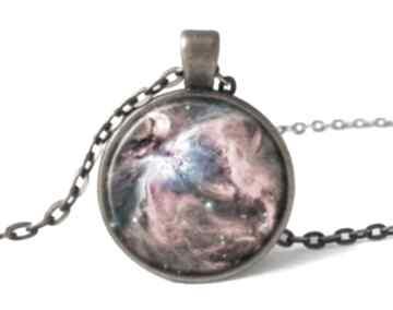 Orion nebula medalion łańcuszkiem kosmos galaxy gwiazdy prezent