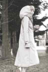 Płaszcz przeciwdeszczowy beżowy płaszcze monika jaworska