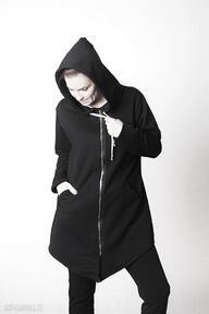 Bluza damska na zamek czarna bluzy trzyforu bluzy, sukienki,