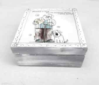 "Pudełko ""dziadek"" pudełka marina czajkowska dziadek, pudełko,"