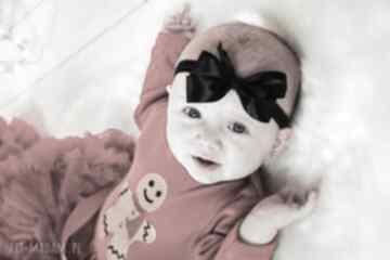 Opaska kokardka gumce dla dziewczynki dziewczynka niemowlak