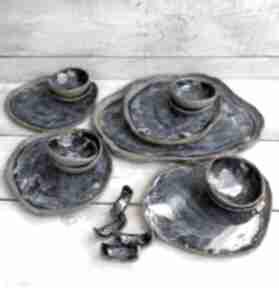 Duży zestaw do sushi dla czworga max ceramika kmdeka sushi