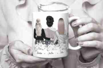 Kubek portret kobiet - dla przyjaciółki kubki kreatywne wesele
