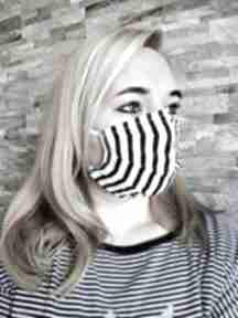 Maseczka w paski ochronna maseczki molicka maska, bawelniana