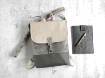 Słoneczny plecak fabrykawis na laptopa, damski plecak, do pracy