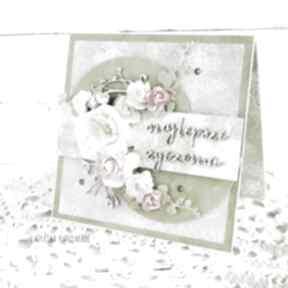 scrapbooking kartki Najlepsze życzenia. Kartka w pudełku,